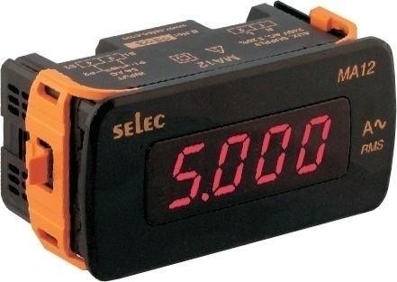 Amperemeter, 0-5AAC, einphasig, 240VAC, 1/8 DIN