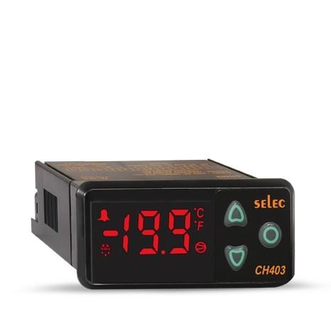 Kühlregler, Ausgang: 10A Relais, Alarm: 12VDC/10mA, 85-270V, 36x72mm