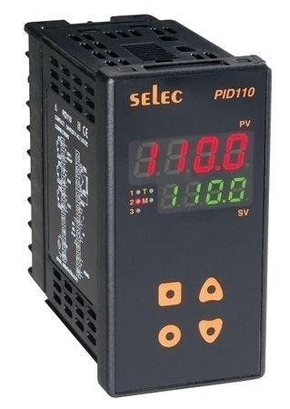 PID Temperaturregler mit Rampen-/Haltefunktion, Relais/Relais/Relais, 85-270V, 1/8 DIN