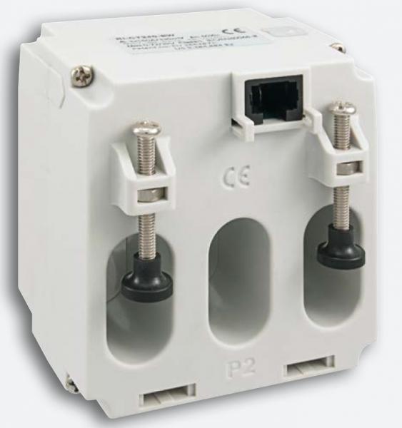 Stromwandler Plug''N''Wire, 125A/330mV, dreiphasig, 3x(15,5x30mm), Klasse 1
