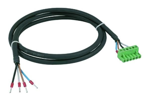 Anschlußkabel Plug''N''Wire für Stromnetz zu Multimeter 1,3m