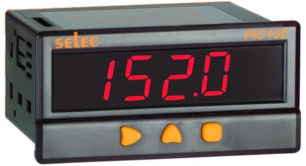 Prozeßanzeiger, 2xAlarmausgang, 85-270V, 1/8 DIN