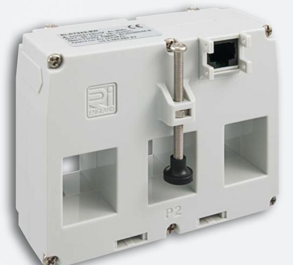 Stromwandler Plug''N''Wire, 125A/330mV, dreiphasig, 3x(25x21mm), Klasse 1