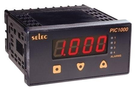 Prozeßanzeiger, 4xAlarmausgang, Signalausgang: 4-20mA, 85-270V, 1/8 DIN