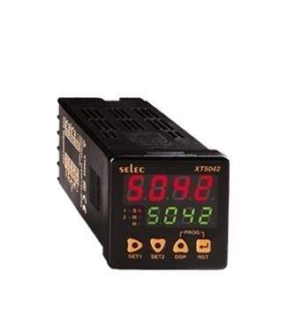 Zeitrelais, digital, 7 Zeitfunktionen, 9 Zeitbereiche, 2 Vorwahlwerte, 2SPST (2NO), 85-270V, 1/16 DIN