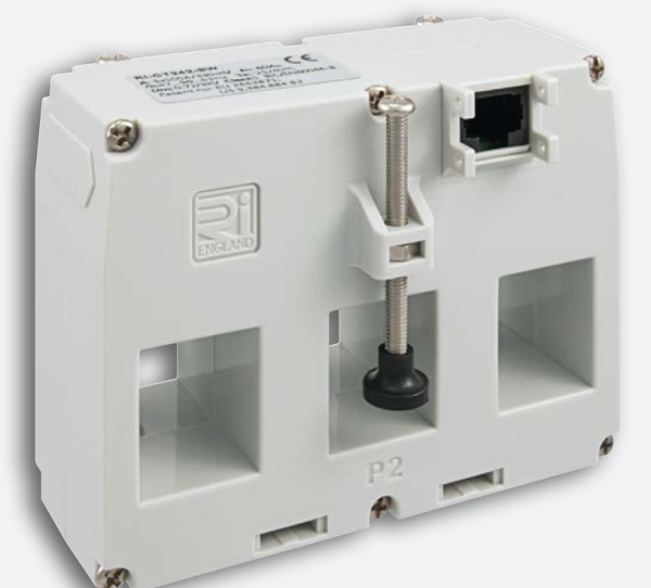 Stromwandler Plug''N''Wire, 100A/330mV, dreiphasig, 3x(25x21mm), Klasse 1