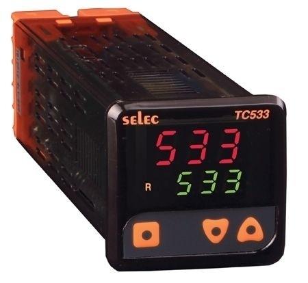 PID Temperaturregler, 2x3 Ziffern, 85-270V, 1/16 DIN