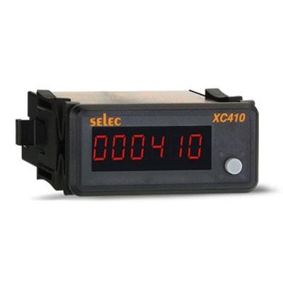 Impulszähler, aufwärts, 1x6 Ziffern LED, 230V, 1/8 DIN