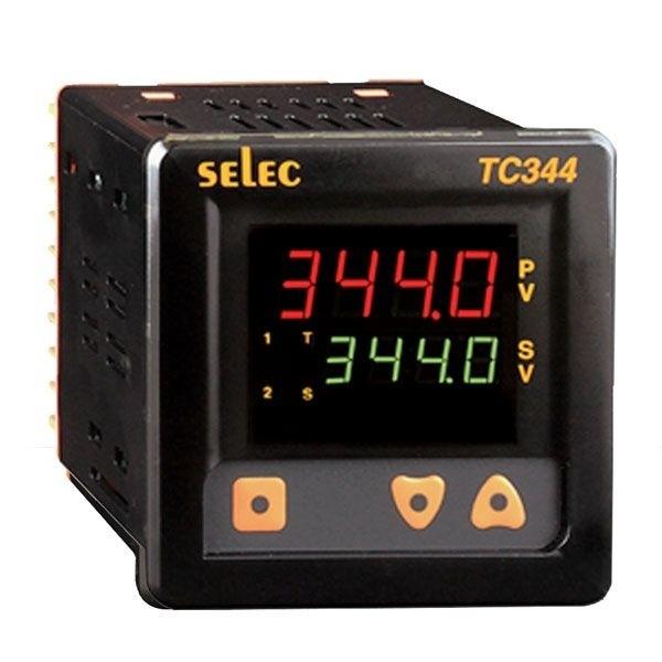 PID Temperaturregler mit Hilfsausgang, 85-270V, 1/4 DIN