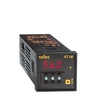 Zeitrelais, digital, Ansprechverzögerung/Einschaltwischer, 6 Zeitbereiche, ein Vorwahlwert, Dekadenschalter, 1DPDT, 85-270V, 1/16 DIN