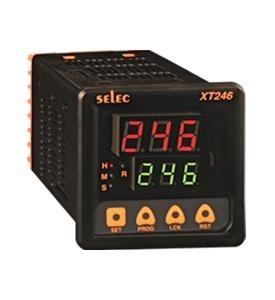 Zeitrelais, digital, 4 Zeitfunktionen, 9 Zeitbereiche, ein Vorwahlwert, 2SPDT, 85-270V, 72x72mm