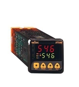 Zeitrelais, digital, 4 Zeitfunktionen, 9 Zeitbereiche, ein Vorwahlwert, 2SPDT, 85-270V, 1/16 DIN