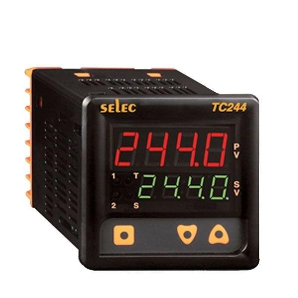 PID Temperaturregler mit Hilfsausgang 85-270V, 72x72mm