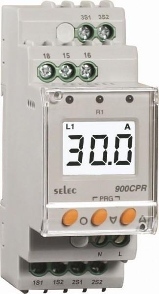 Stromschutzrelais, dreiphasig, Über-/Unterstrom / Asymmetrie, 230VAC, 1SPDT, 35mm DIN-Schiene