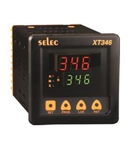 Zeitrelais, digital, 4 Zeitfunktionen, 9 Zeitbereiche, ein Vorwahlwert, 2SPDT, 85-270V, 1/4 DIN