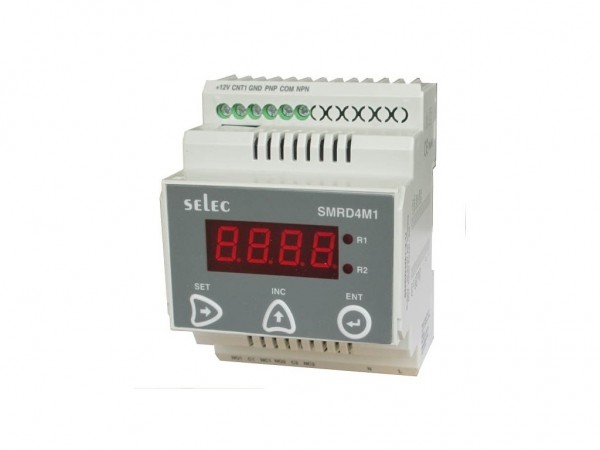 Speed Monitoring Relay , digital, Din Rail, Under-speed, Over-speed, Dual Speed, 2 Set Points, 2 Relays , 90-270V
