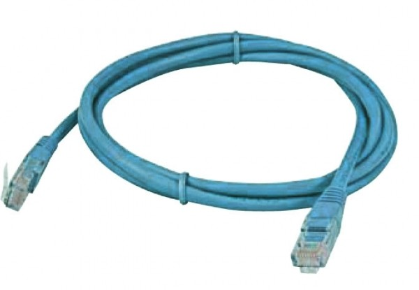 Patchkabel Plug''N''Wire RJ45 Cat 5e von Stromwandler zu Multimeter 0,5m