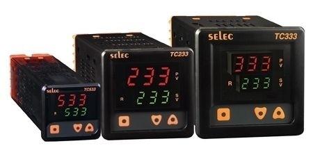 PID Temperaturregler, 2x3 Ziffern, 85-270V, 1/4 DIN