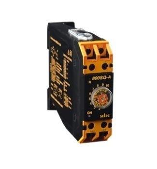 Zeitrelais, analog, Ansprechverzögerung/Einschaltwischer, 8 Zeitbereiche, 1SPDT, 230VAC/24VDC, DIN 22,5mm