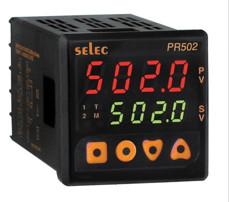 PID Temperatur-/Prozeßregler, 4-20mA/Relais, EIA-485, 85-270V